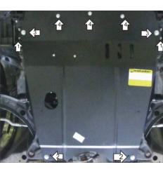 Защита картера, КПП и масляного фильтра Suzuki Swift 02417