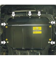 Защита картера и КПП Hyundai Elantra 70919