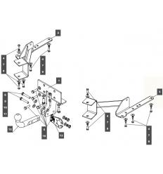 Фаркоп на Toyota Land Cruiser Prado 150 249458
