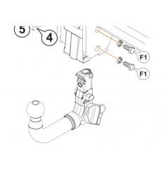 Фаркоп на Audi Q3 A-118