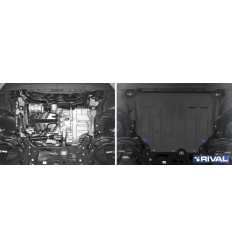 Защита картера и КПП Seat Leon 111.5128.1