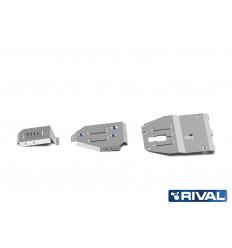 Защита картера, КПП, топливного бака и редуктора Hyundai Tucson K333.2390.1
