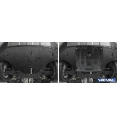 Защита картера и КПП Hyundai Palisade 111.2385.1