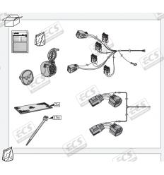 Штатная электрика к фаркопу на Land Rover Discovery LR001BH