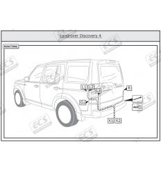 Штатная электрика к фаркопу на Land Rover Discovery LR003BH