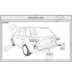 Штатная электрика к фаркопу на Land Rover Range Rover Sport LR003BH