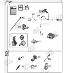 Штатная электрика к фаркопу на Mercedes-Benz GLS-Class MB084B1