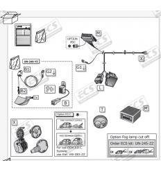 Штатная электрика к фаркопу на Audi Q7 AU062BX