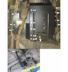 Защита КПП и РК Toyota HiAce 02566
