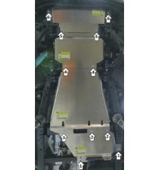 Защита радиатора, картера, переднего дифференциала, КПП, РК Ford F-150 380703