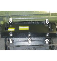 Защита рулевых тяг УАЗ Патриот 16506