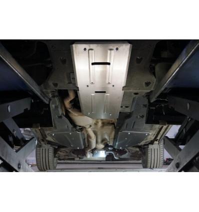 Защита картера, КПП, топливного бака и заднего редуктора Genesis GV80 ZKTCC00517K