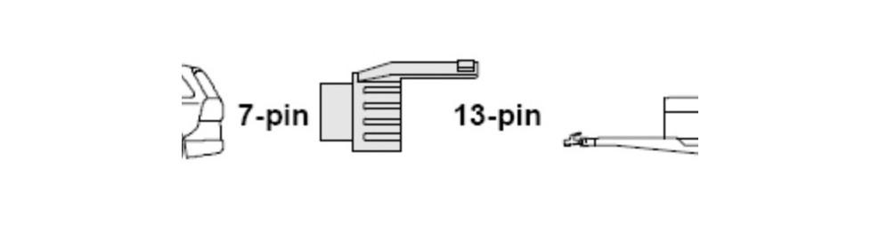Переходник с 7pin на 13pin