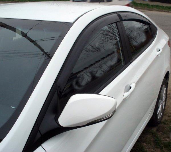 дефлекторы боковых окон Hyundai