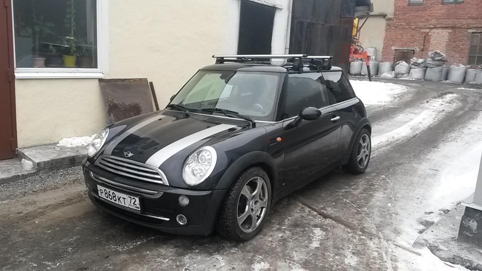 багажник на крышу Mini