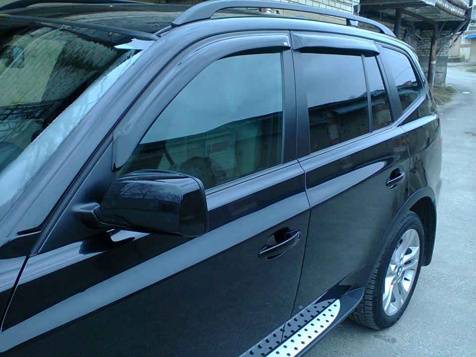 дефлекторы BMW