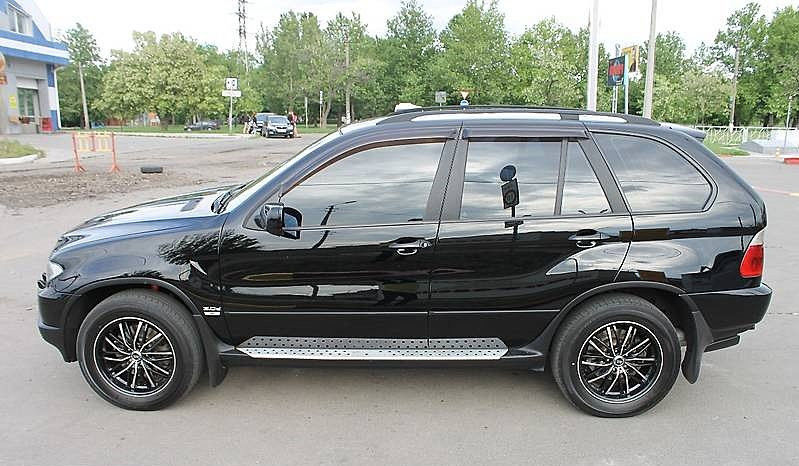 дефлекторы окон BMW