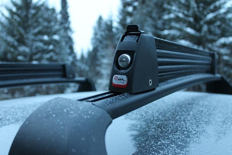 багажник для лыж Амос