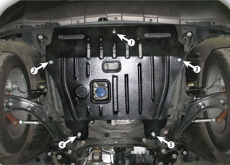 Защита картера Acura RDX (Акура)