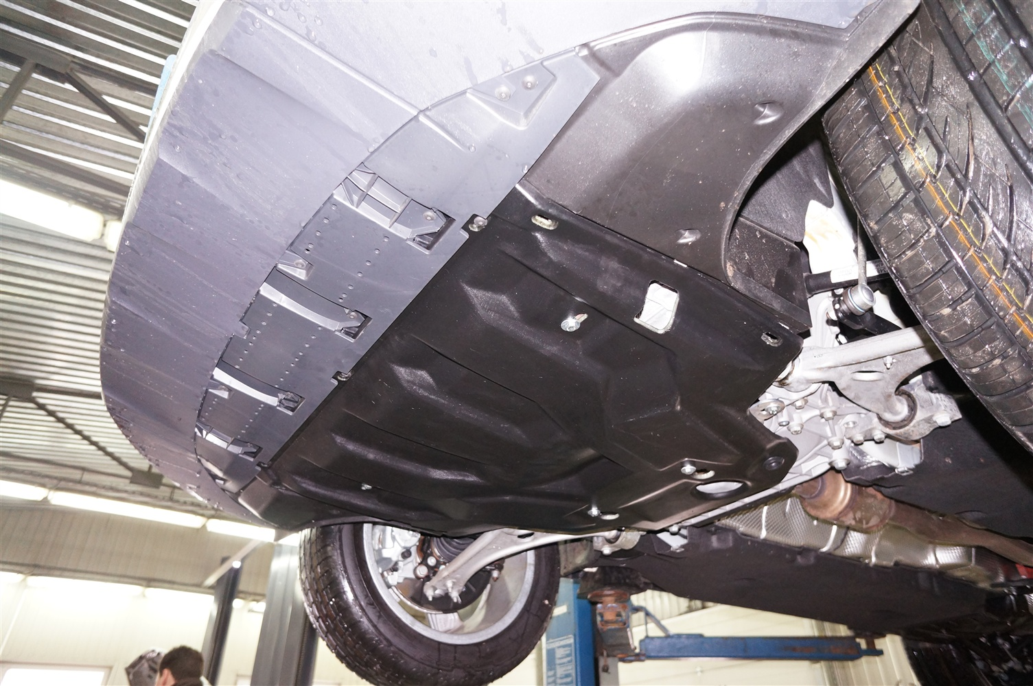 Защита картера Audi Q3 (Ауди)