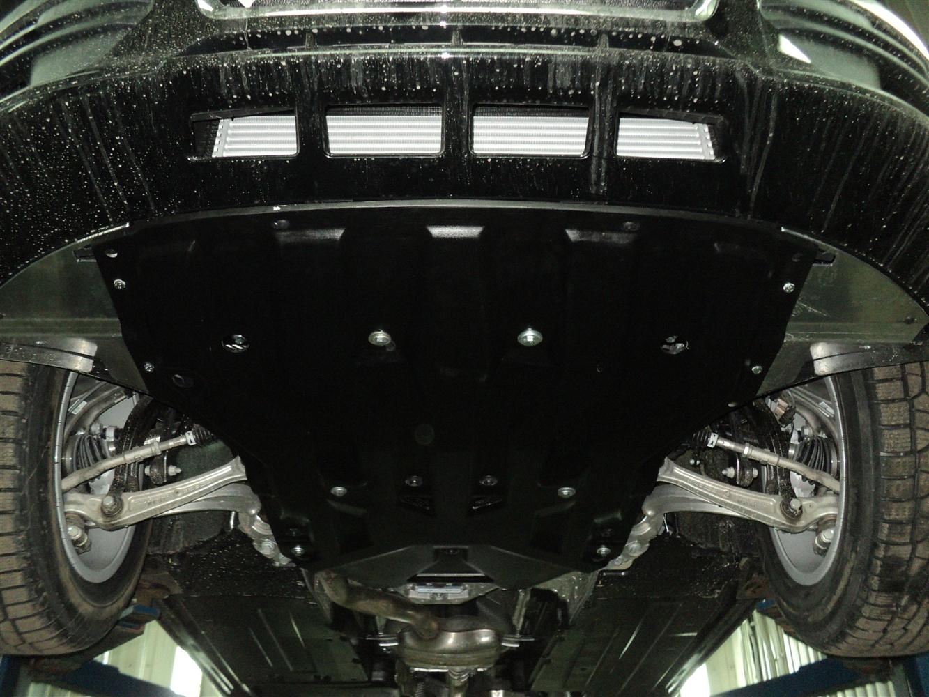 Защита картера Audi Q5 (Ауди)