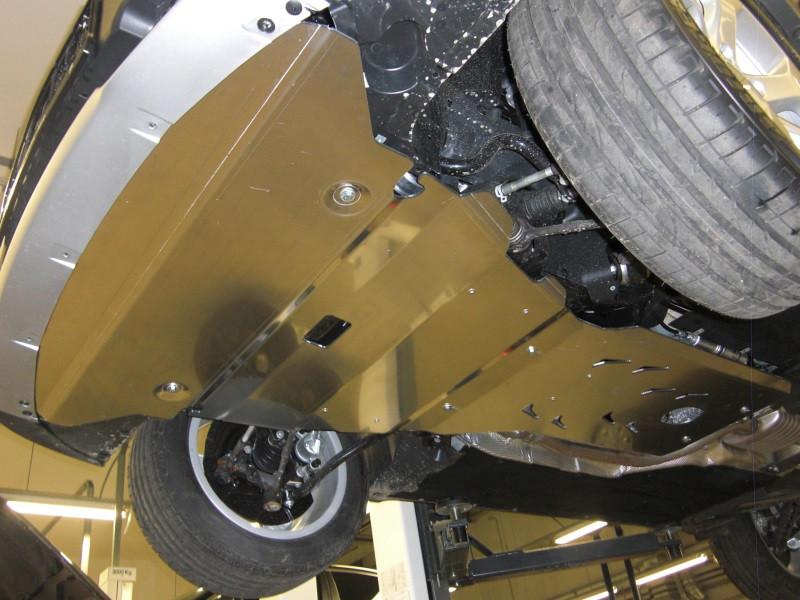 Защита картера BMW X1 (БМВ)