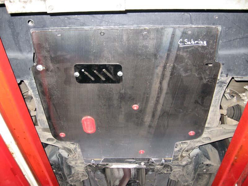 Защита картера Chrysler Sebring (Крайслер Себринг)