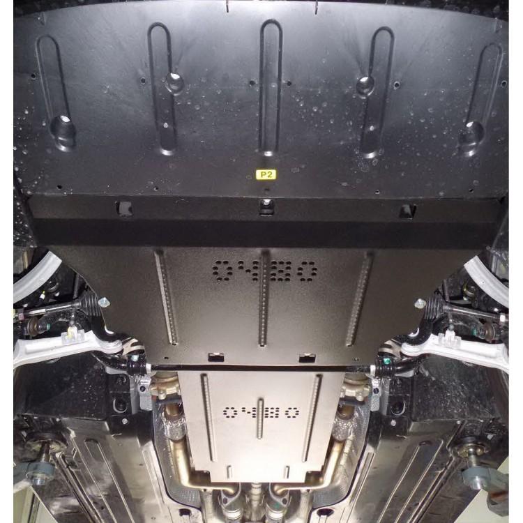 Защита картера Hyundai Equus (Хендай Экус)