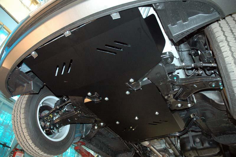 Защита картера Hyundai H1 Starex (Хендай Старекс)