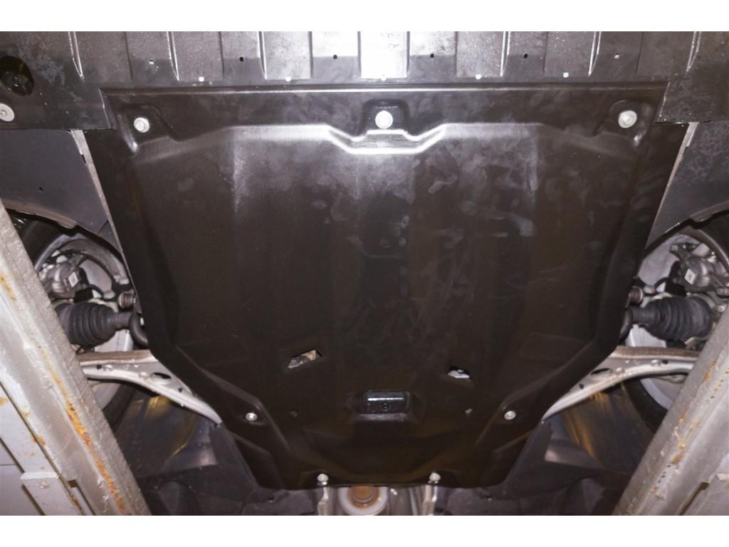 Защита двигателя и КПП Mercedes B