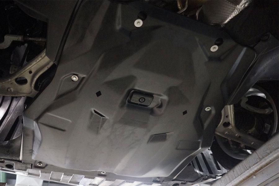 Защита картера Mercedes GLA
