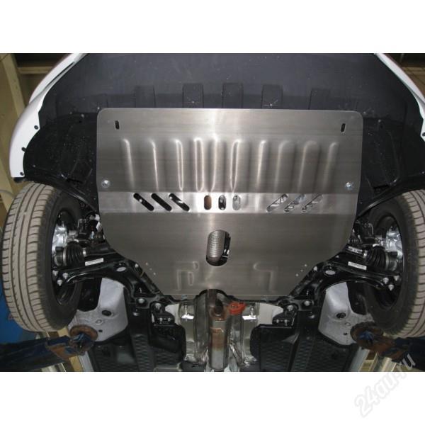 Защита картера двигателя и КПП для Skoda Roomster