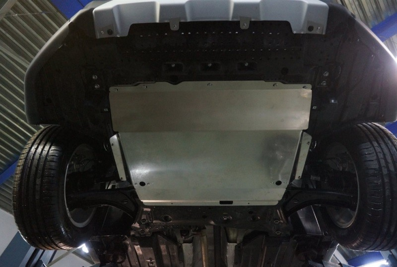 Защита картера на Suzuki SX4